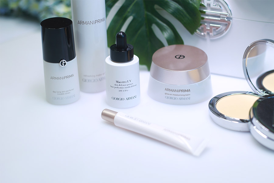 Armani Prive Luxury Skincare to wear with Makeup review