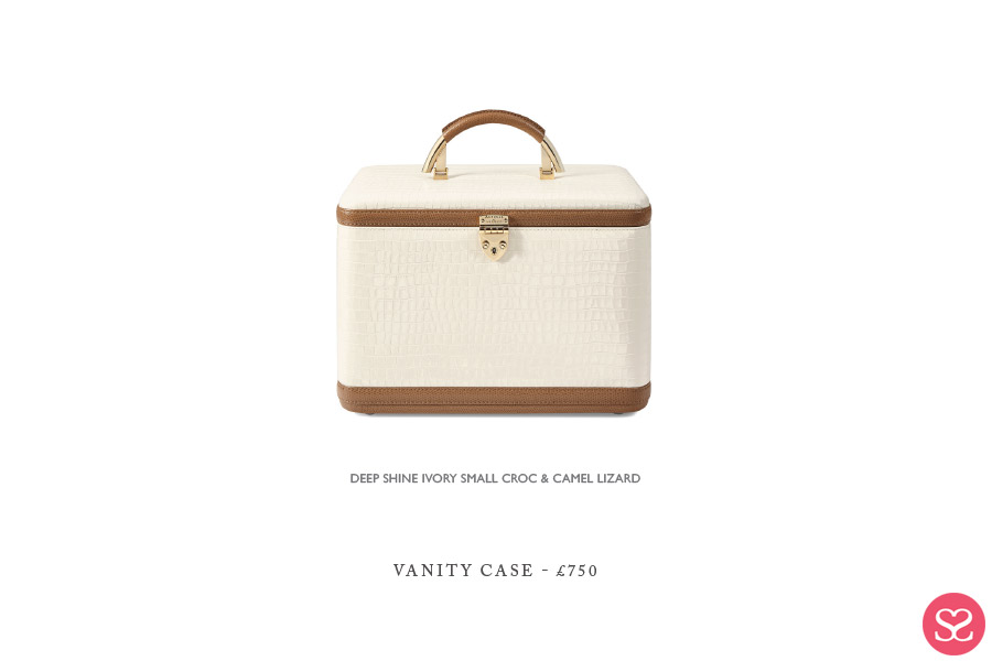Aspinal of London SS18 Vanity Case Price Review Lilac & Ivory