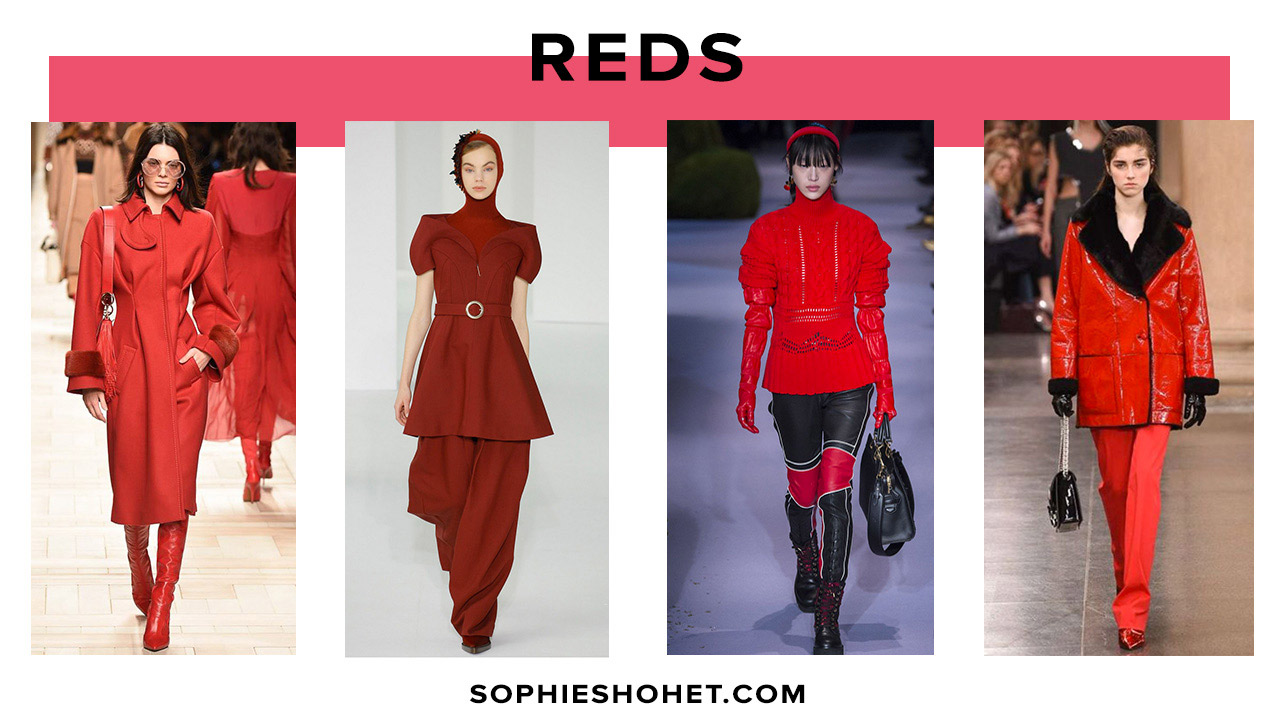 AW17 Trend: Red