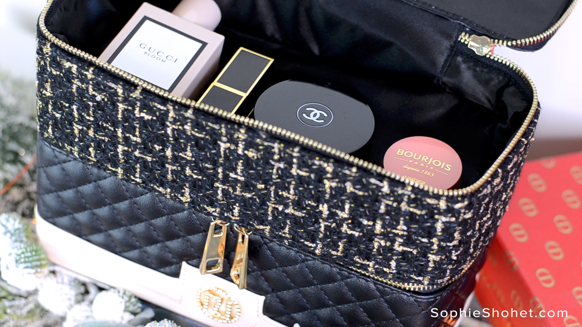 Chanel Inspired Vanity Case from River Island