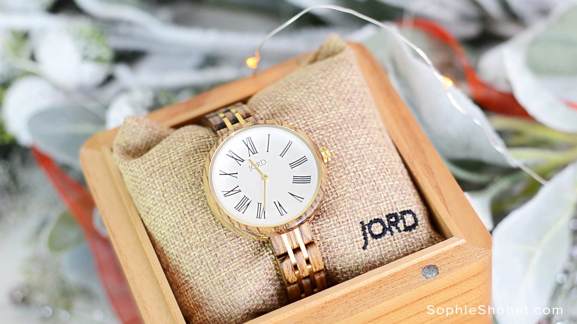 Jord Cassia Wood Watch for Ladies