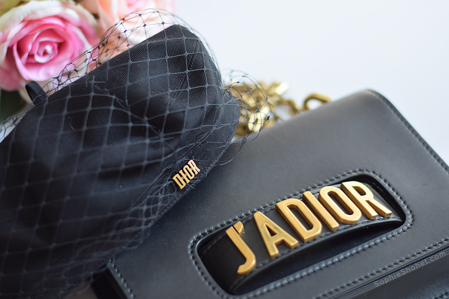 J'adior Beret and Flap Handbag