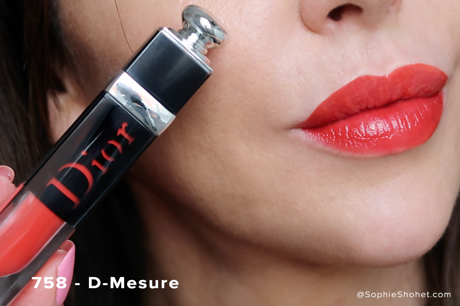Dior Addict Lacquer Swatch - 758 D-Mesure