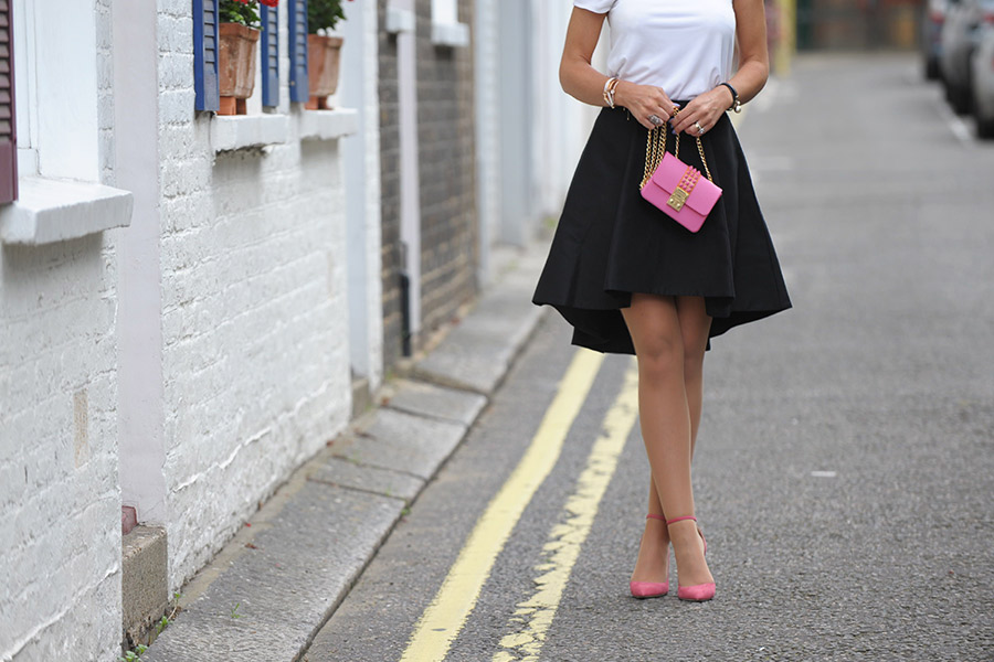 Summer skirt styling