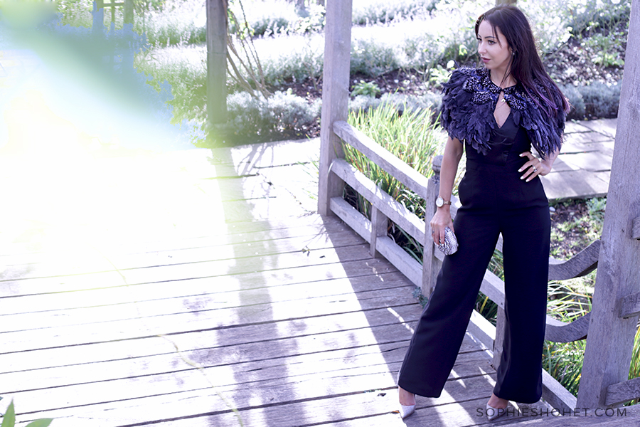 Christmas Party Styling Ideas - Black Jumpsuit from Issa