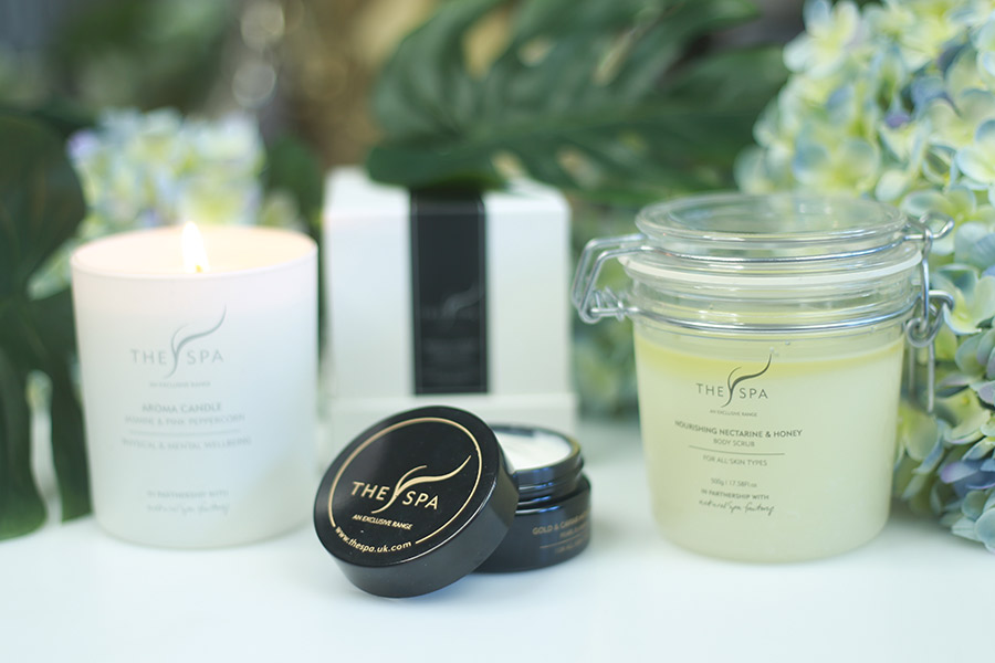 The Spa - 24k Gold Face Creme & Luxury Candle