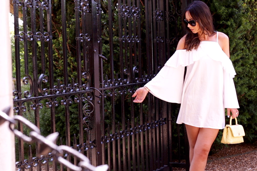 Boho Whimsical White Summer Dress UK